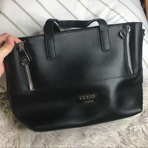 Guess Black Tote Handbag